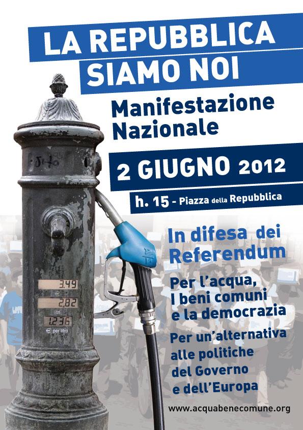 """<div class=""""at-above-post-cat-page addthis_tool"""" data-url=""""http://www.verdi.ferrara.it/sito/2012/05/25/2-giugno-2012-la-repubblica-siamo-noi/""""></div>Anche da Ferrara il CAP organizza, in collaborazione con CGIL, la partecipazione alla manifestazione nazionale su acqua e beni comuni: per prenotare il pullman telefona allo 327-1808039 o scrivi a […]<!-- AddThis Advanced Settings above via filter on get_the_excerpt --><!-- AddThis Advanced Settings below via filter on get_the_excerpt --><!-- AddThis Advanced Settings generic via filter on get_the_excerpt --><!-- AddThis Share Buttons above via filter on get_the_excerpt --><!-- AddThis Share Buttons below via filter on get_the_excerpt --><div class=""""at-below-post-cat-page addthis_tool"""" data-url=""""http://www.verdi.ferrara.it/sito/2012/05/25/2-giugno-2012-la-repubblica-siamo-noi/""""></div><!-- AddThis Share Buttons generic via filter on get_the_excerpt -->"""