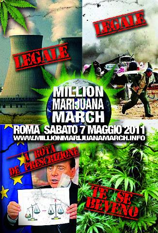 """<div class=""""at-above-post-arch-page addthis_tool"""" data-url=""""http://www.verdi.ferrara.it/sito/2011/05/06/million-marijuana-march-a-roma/""""></div>Il 7 maggio più di 250 città di tutto il mondo saranno attraversate dalla Million Marijuana March, una delle più grandi iniziative globali per la normalizzazione della Canapa e dei […]<!-- AddThis Advanced Settings above via filter on get_the_excerpt --><!-- AddThis Advanced Settings below via filter on get_the_excerpt --><!-- AddThis Advanced Settings generic via filter on get_the_excerpt --><!-- AddThis Share Buttons above via filter on get_the_excerpt --><!-- AddThis Share Buttons below via filter on get_the_excerpt --><div class=""""at-below-post-arch-page addthis_tool"""" data-url=""""http://www.verdi.ferrara.it/sito/2011/05/06/million-marijuana-march-a-roma/""""></div><!-- AddThis Share Buttons generic via filter on get_the_excerpt -->"""