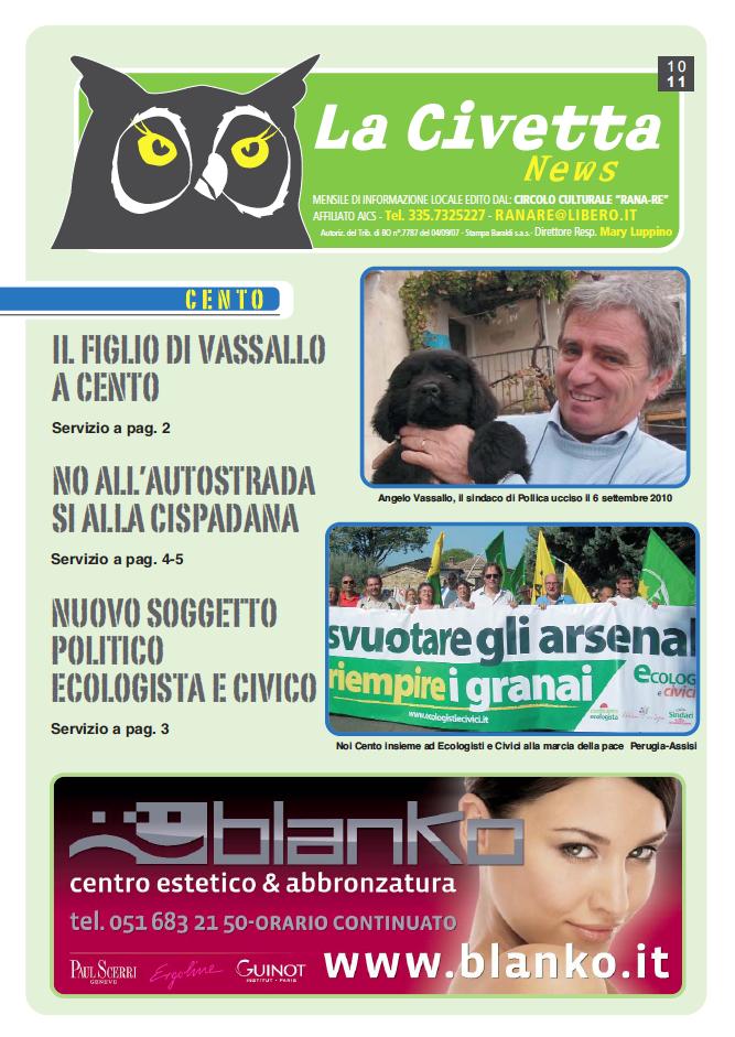 """<div class=""""at-above-post-cat-page addthis_tool"""" data-url=""""http://www.verdi.ferrara.it/sito/2011/10/27/la-civetta/""""></div>E' uscito l'ultimo numero de La Civetta, mensile di informazione locale edito dal circolo culturale """"RANA-RE"""". Scaricalo in formato pdf: la_civetta_ottobre_2011_bassa.pdf.<!-- AddThis Advanced Settings above via filter on get_the_excerpt --><!-- AddThis Advanced Settings below via filter on get_the_excerpt --><!-- AddThis Advanced Settings generic via filter on get_the_excerpt --><!-- AddThis Share Buttons above via filter on get_the_excerpt --><!-- AddThis Share Buttons below via filter on get_the_excerpt --><div class=""""at-below-post-cat-page addthis_tool"""" data-url=""""http://www.verdi.ferrara.it/sito/2011/10/27/la-civetta/""""></div><!-- AddThis Share Buttons generic via filter on get_the_excerpt -->"""