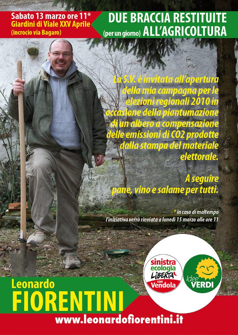 """<div class=""""at-above-post-cat-page addthis_tool"""" data-url=""""http://www.verdi.ferrara.it/sito/2010/03/09/13-marzo-un-albero-per-aprire-la-campagna-elettorale/""""></div>Sabato 13 marzo ore 11* Giardini di Viale XXV Aprile (incrocio via Bagaro) La S.V. è invitata all'apertura della campagna di Leonardo Fiorentini candidato della lista Idee Verdi-SEL per le […]<!-- AddThis Advanced Settings above via filter on get_the_excerpt --><!-- AddThis Advanced Settings below via filter on get_the_excerpt --><!-- AddThis Advanced Settings generic via filter on get_the_excerpt --><!-- AddThis Share Buttons above via filter on get_the_excerpt --><!-- AddThis Share Buttons below via filter on get_the_excerpt --><div class=""""at-below-post-cat-page addthis_tool"""" data-url=""""http://www.verdi.ferrara.it/sito/2010/03/09/13-marzo-un-albero-per-aprire-la-campagna-elettorale/""""></div><!-- AddThis Share Buttons generic via filter on get_the_excerpt -->"""