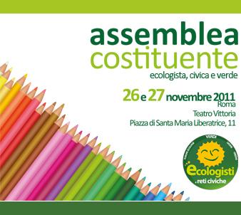 """<div class=""""at-above-post-cat-page addthis_tool"""" data-url=""""http://www.verdi.ferrara.it/sito/2011/11/17/il-26-e-27-novembre-a-roma-lassemblea-costituente-di-ecologisti-e-reti-civiche/""""></div>DOPO IL GRANDE SUCCESSO DELLE PRIMARIE, IL 26 E 27 NOVEMBRE A ROMA L'ASSEMBLEA COSTITUENTE DI ECOLOGISTI E RETI CIVICHE Per la prima volta in Italia una nuova aggregazione politica […]<!-- AddThis Advanced Settings above via filter on get_the_excerpt --><!-- AddThis Advanced Settings below via filter on get_the_excerpt --><!-- AddThis Advanced Settings generic via filter on get_the_excerpt --><!-- AddThis Share Buttons above via filter on get_the_excerpt --><!-- AddThis Share Buttons below via filter on get_the_excerpt --><div class=""""at-below-post-cat-page addthis_tool"""" data-url=""""http://www.verdi.ferrara.it/sito/2011/11/17/il-26-e-27-novembre-a-roma-lassemblea-costituente-di-ecologisti-e-reti-civiche/""""></div><!-- AddThis Share Buttons generic via filter on get_the_excerpt -->"""