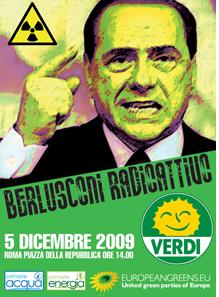 """<div class=""""at-above-post-arch-page addthis_tool"""" data-url=""""http://www.verdi.ferrara.it/sito/2009/12/04/berlusconi-radioattivo-anche-a-ferrara-si-firma-contro-il-nucleare-e-per-lacqua-pubblica-in-occasione-del-nobday/""""></div>Comunicato Stampa Berlusconi Radioattivo I Verdi in Piazza anche a Ferrara Verso la Costituente ecologista Firme contro il Nucleare e per l'Acqua Pubblica in occasione del NOBday Scenderanno in Piazza […]<!-- AddThis Advanced Settings above via filter on get_the_excerpt --><!-- AddThis Advanced Settings below via filter on get_the_excerpt --><!-- AddThis Advanced Settings generic via filter on get_the_excerpt --><!-- AddThis Share Buttons above via filter on get_the_excerpt --><!-- AddThis Share Buttons below via filter on get_the_excerpt --><div class=""""at-below-post-arch-page addthis_tool"""" data-url=""""http://www.verdi.ferrara.it/sito/2009/12/04/berlusconi-radioattivo-anche-a-ferrara-si-firma-contro-il-nucleare-e-per-lacqua-pubblica-in-occasione-del-nobday/""""></div><!-- AddThis Share Buttons generic via filter on get_the_excerpt -->"""