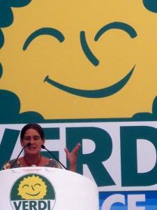 Barbara Diolaiti al congresso di Chianciano