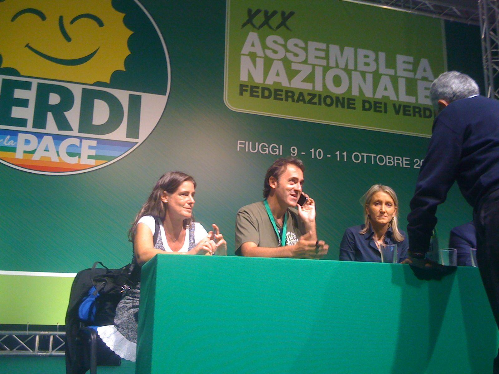 """<div class=""""at-above-post-arch-page addthis_tool"""" data-url=""""http://www.verdi.ferrara.it/sito/2009/10/13/abbiamo-vinto/""""></div>Angelo Bonelli, 47 anni, gia' capogruppo dei verdi alla Camera, è il nuovo Presidente dei Verdi uscito dal Congresso di Fiuggi del 9-10-11 ottobre. Stop a sinistra e liberta', via […]<!-- AddThis Advanced Settings above via filter on get_the_excerpt --><!-- AddThis Advanced Settings below via filter on get_the_excerpt --><!-- AddThis Advanced Settings generic via filter on get_the_excerpt --><!-- AddThis Share Buttons above via filter on get_the_excerpt --><!-- AddThis Share Buttons below via filter on get_the_excerpt --><div class=""""at-below-post-arch-page addthis_tool"""" data-url=""""http://www.verdi.ferrara.it/sito/2009/10/13/abbiamo-vinto/""""></div><!-- AddThis Share Buttons generic via filter on get_the_excerpt -->"""