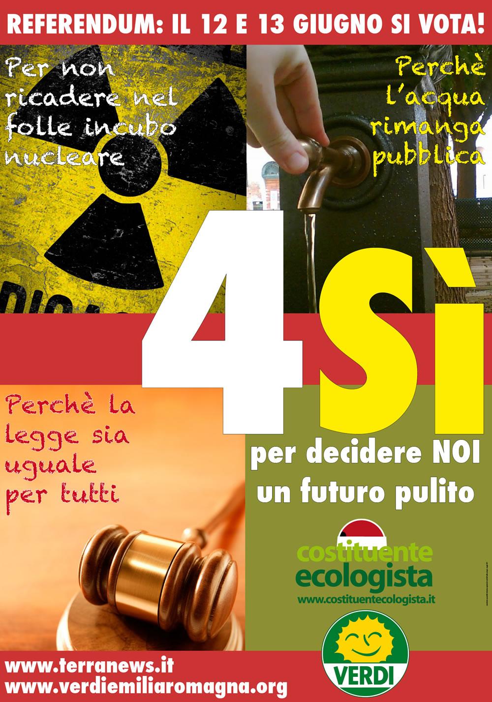 """<div class=""""at-above-post-cat-page addthis_tool"""" data-url=""""http://www.verdi.ferrara.it/sito/2011/06/01/4-si-ai-referendum-del-12-e-13-giugno/""""></div>Ecco il Manifesto dei verdi per la Costituente ecologista dell'Emilia Romagna:<!-- AddThis Advanced Settings above via filter on get_the_excerpt --><!-- AddThis Advanced Settings below via filter on get_the_excerpt --><!-- AddThis Advanced Settings generic via filter on get_the_excerpt --><!-- AddThis Share Buttons above via filter on get_the_excerpt --><!-- AddThis Share Buttons below via filter on get_the_excerpt --><div class=""""at-below-post-cat-page addthis_tool"""" data-url=""""http://www.verdi.ferrara.it/sito/2011/06/01/4-si-ai-referendum-del-12-e-13-giugno/""""></div><!-- AddThis Share Buttons generic via filter on get_the_excerpt -->"""
