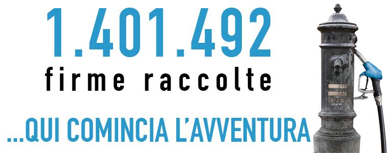 """<div class=""""at-above-post-arch-page addthis_tool"""" data-url=""""http://www.verdi.ferrara.it/sito/2010/07/19/unmilionequattrocentunmilaquattrocentonovantadue-gocce-dacqua/""""></div>Oggi il popolo dell'acqua si ritrova in Piazza Navona alle ore 9.30 per festeggiare insieme la consegna di oltre un milione di firme (7000 certificate a Ferrara) per i tre […]<!-- AddThis Advanced Settings above via filter on get_the_excerpt --><!-- AddThis Advanced Settings below via filter on get_the_excerpt --><!-- AddThis Advanced Settings generic via filter on get_the_excerpt --><!-- AddThis Share Buttons above via filter on get_the_excerpt --><!-- AddThis Share Buttons below via filter on get_the_excerpt --><div class=""""at-below-post-arch-page addthis_tool"""" data-url=""""http://www.verdi.ferrara.it/sito/2010/07/19/unmilionequattrocentunmilaquattrocentonovantadue-gocce-dacqua/""""></div><!-- AddThis Share Buttons generic via filter on get_the_excerpt -->"""